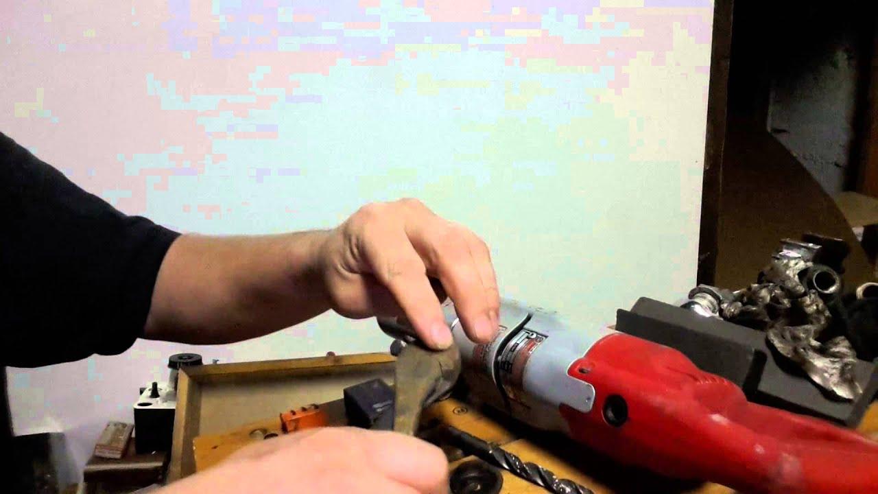 medium resolution of milwaukee right angle drill fix