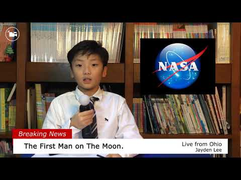 Homework Report: The First Man on the Moon