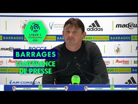 Conférence de presse AC Ajaccio - Toulouse FC ( 0-3 )  / 2017-18
