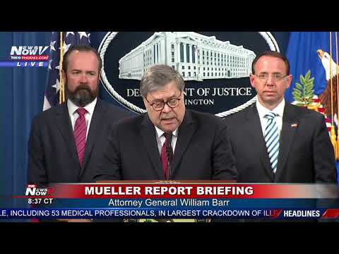BREAKING: No Collusion Found By Mueller Investigation Report
