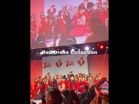 NYC VLOG   AMERICAN HEART ASSOCIATION RED DRESS COLLECTION FASHION SHOW