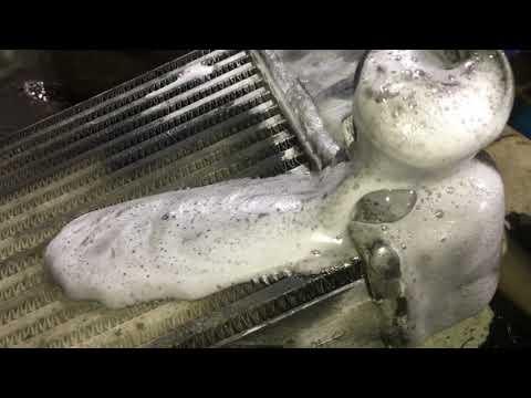 промывка интеркуллер от масла