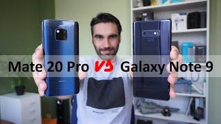 Huawei Mate 20 Pro vs Samsung Galaxy Note 9   review comparativa en español