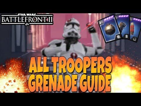 All Infantry Class Grenade Guide - Star Wars Battlefront 2