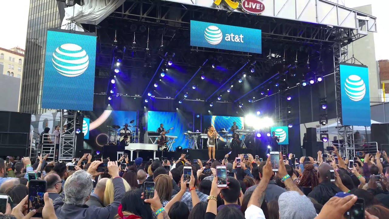 Mariah Carey Concert (Jimmy Kimmel Live 2015) - Behind the Scenes Bonus HD Footage