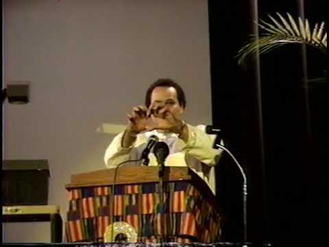 Dr. Asa G  Hilliard III: ASCAC New York 1998