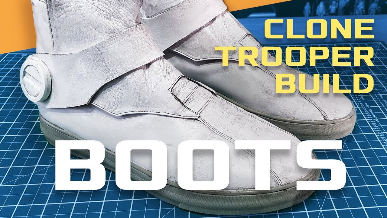 New Star Wars Clone Troopers Cosplay Boots Shoes Cos Shoes Custom Made