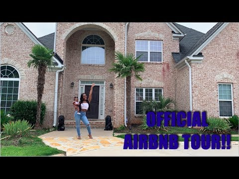OFFICIAL AIRBNB TOUR IN ATLANTA!!