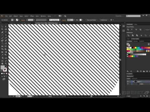 How to Make a Striped Swatch on Adobe Illustrator