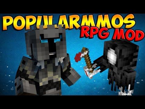 Minecraft Mods: PopularMMO 's RPG Mod - PopularMMO , Grim Reaper's & More! (Minecraft Mod Showcase)