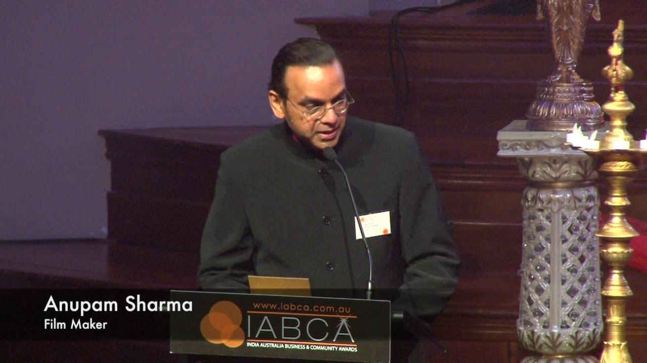 IABCA 2018 - Thank you to Anupam Sharma for presenting the Intercultural Innovator Award