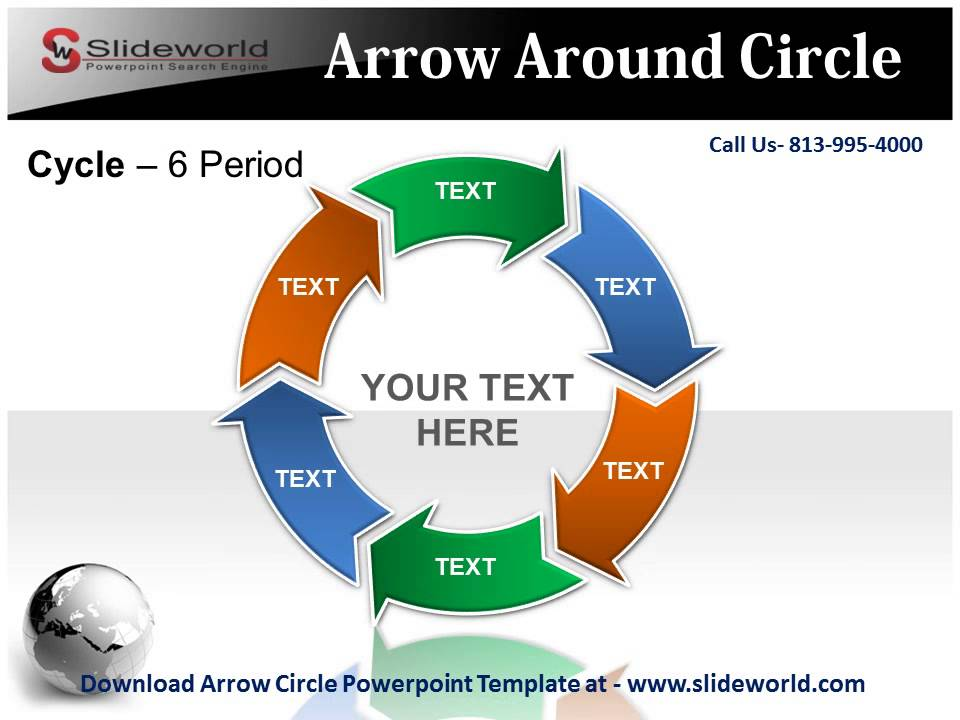 Graphics For Circular Arrow Smartart Graphics | Www.Graphicsbuzz.Com