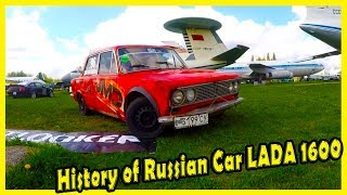History of Classic Russian Cars LADA 1600 (VAZ 2106). Old Soviet Cars Tuned. Cars for Drifting