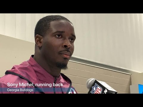 VIDEO: Sony Michel on his NFL prospects