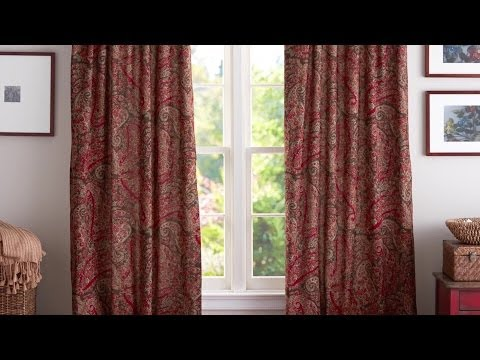 How to Hang Curtains | Pottery Barn