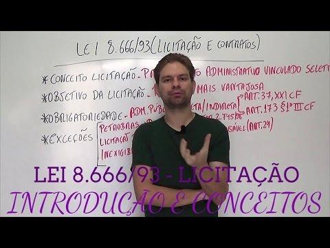 Видео Crimes contra lei 8666/93 estudo de caso