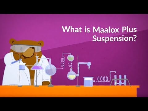 What Is Maalox Plus Suspension? (Aluminum Hydroxide; Magnesium Hydroxide; Simethicone)