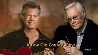 Randy Travis & George Jones  ~