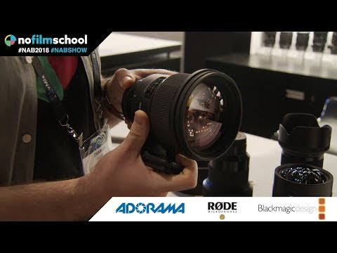 Sigma Shows Off Updated 70mm Macro and 105mm f/1.4 'Bokeh Monster'