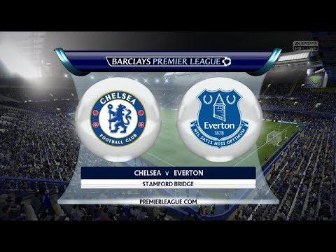 Chelsea vs Everton Full Match 10252017 part 1 - League Cup 2017/2018 - Rev 1/8