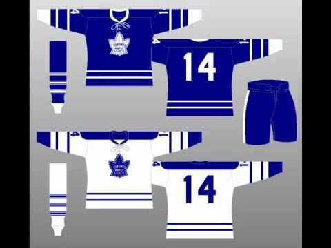 Toronto Maple Leafs Jersey History 96
