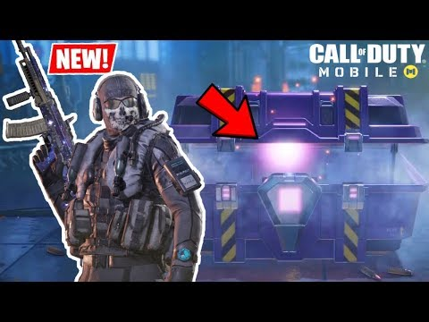 *NEW* RARE GHOST STEALTH SKIN CRATE OPENING + GAMEPLAY! | CALL OF DUTY MOBILE