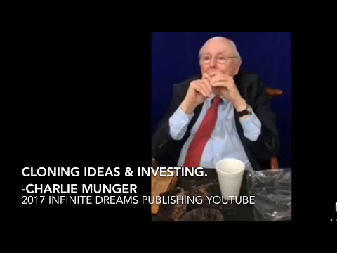 Power of Cloning Great Ideas & Copycat Investing - Charlie Munger Interview 2017
