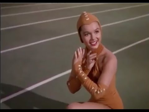 Debbie Reynolds in One the Most Athletic Scenes in Hollywood History!