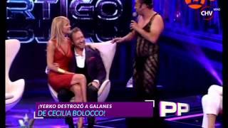 Cecilia Bolocco y la rutina de humor con que Yerko al recibió en su regreso a la TV  - Primer Plano