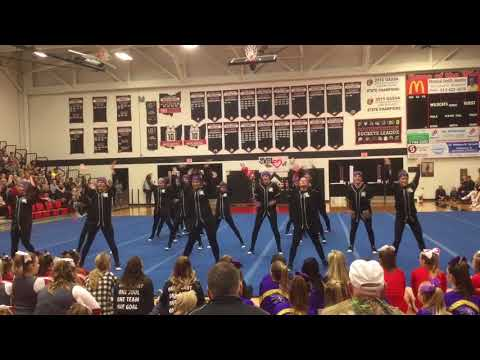 Waynesville High School Comp Cheer SWBL Hip Hop 2.17.2018