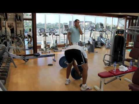 alex blog: abu dhabi gym session