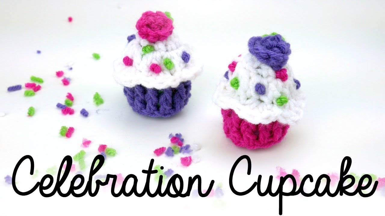 How To Crochet Celebration Cupcakes Episode 400 Youtube