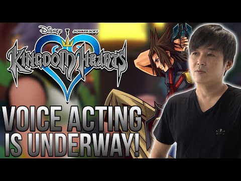 Tetsuya Nomura Confirms Voice Acting is Underway for Kingdom Hearts!