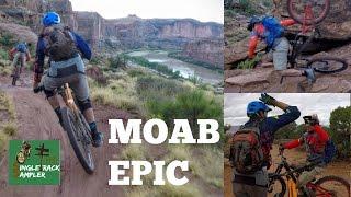 MTB MOAB - Porcupine Rim Trail with Seth's Bike Hacks and BK-XC   The Singletrack Sampler