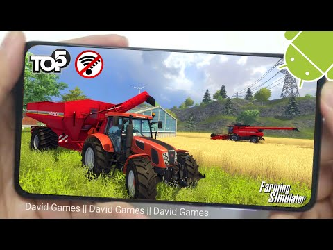 Top 5 Best Offline Farming Simulator Games For Android & IOS 2020
