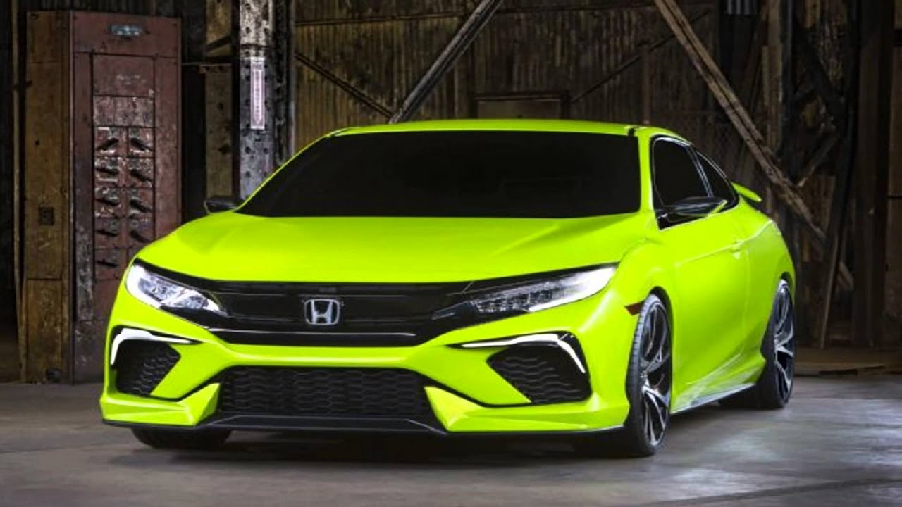 2016 Honda Civic Si Coupe Car Specs Performance Show