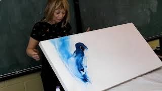 L'atelier d'aquarelle de Lise de Maisonneuve