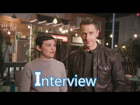 Once Upon a Time 6x20 Interview Ginnifer Goodwin & Josh Dallas(Snow & Charming) Season 6 Episode 20