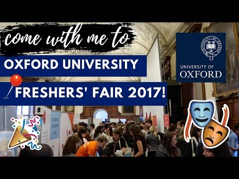 OXFORD UNIVERSITY FRESHERS' FAIR 2017 | Oxford Vlog | ThisIs