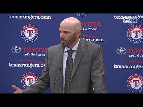Texas Rangers Manager Chris Woodward explains his vision for the organization