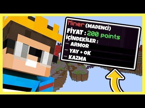 OYUNUN EN İYİ KİTİ İLE OYNADIM | Minecraft Block Wars