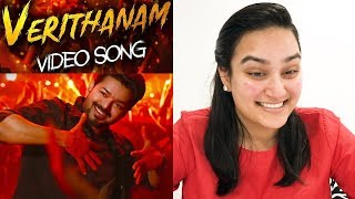 Verithanam Video REACTION | BIGIL | Thalapathy Vijay | A.R Rahman | Atlee.mp3