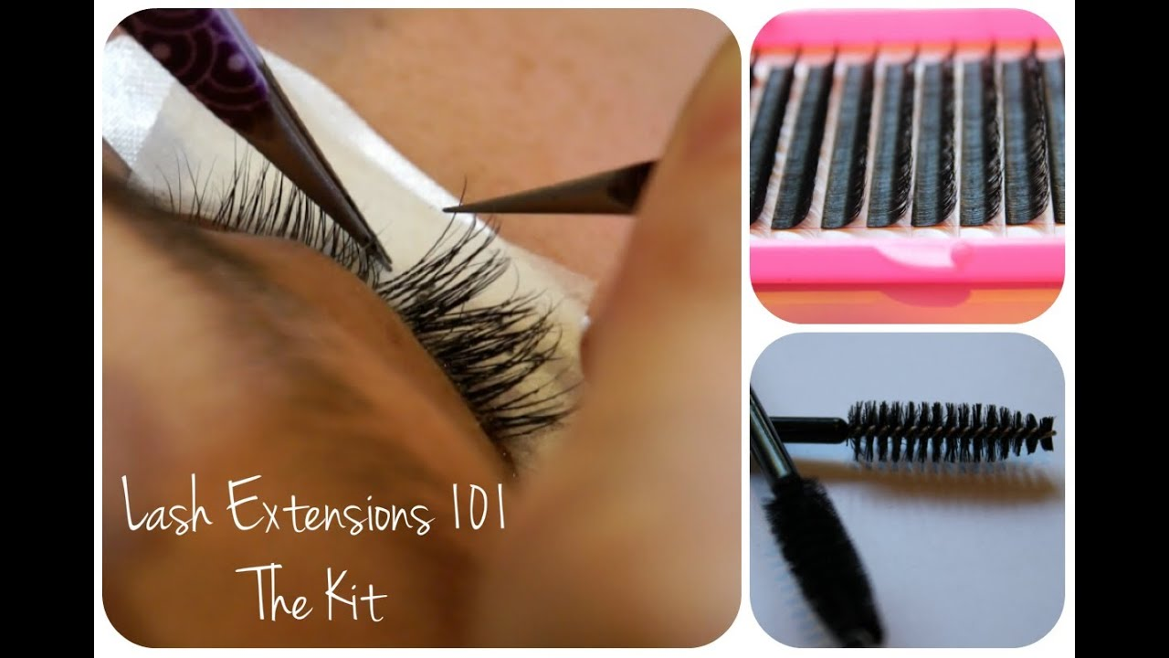 Eyelash Extensions 101 The Kit Youtube