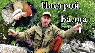 Верховой настрой на Хариуса-Балда. Полный монтаж и рыбалка