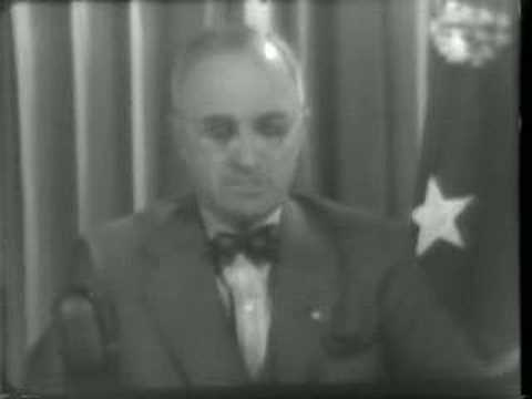 WWII President Truman warned Japan to surrender