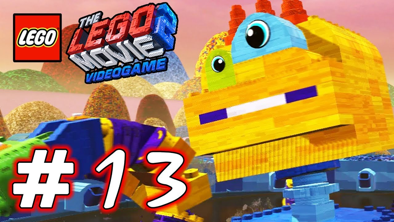 Lego Movie 2 Videogame Part 13 Giant Octopus Hd Gameplay