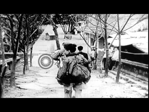 North Vietnamese and Vietcong troops attack Hue. HD Stock Footage