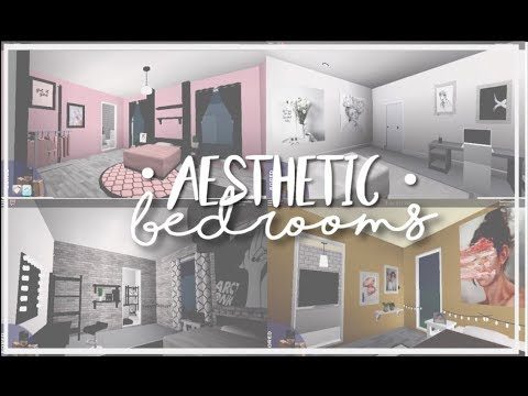 Roblox bloxburg aesthetic bedrooms youtube for Kitchen designs bloxburg