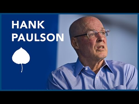 A Conversation with Hank Paulson