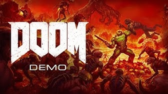 DOOM demo full playthrough - PC gameplay - all collectibles (no commentary)